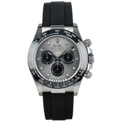 Rolex Cosmograph Daytona 116519LN White Gold Ceramic New Cord Watch, 2020