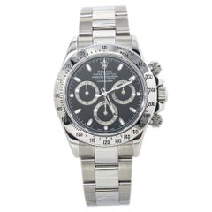 Rolex Cosmograph Daytona 116520 Automatic Black Dial Complete Box/Papers