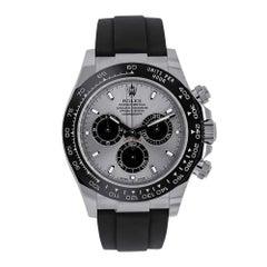 Rolex Cosmograph Daytona 18 Karat White Gold Black Watch 116519LN