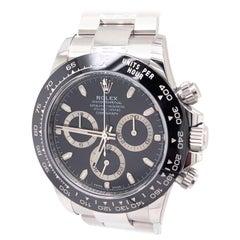 Rolex Daytona 116500 LN Black Dial 40mm Steel Ceramic Oyster Bracelet Men Watch