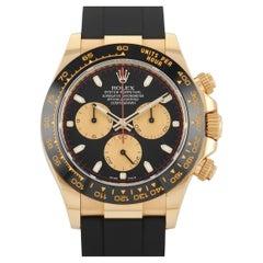 Rolex Cosmograph Daytona Black Dial Oysterflex Chronograph Watch 116518LN