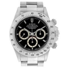 Rolex Cosmograph Daytona Black Dial Zenith Movement Watch 16520