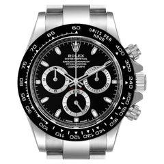 Rolex Cosmograph Daytona Ceramic Bezel Black Dial Watch 116500 Box Card