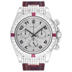 Rolex Cosmograph Daytona Diamond and Ruby Watch 116599