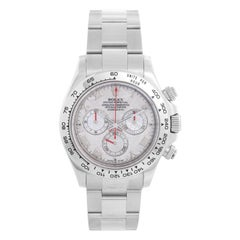 Rolex Cosmograph Daytona Men's 18k White Gold Watch 116509