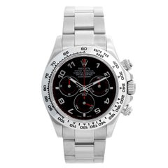 Rolex Cosmograph Daytona Men's 18 Karat White Gold Watch 116509