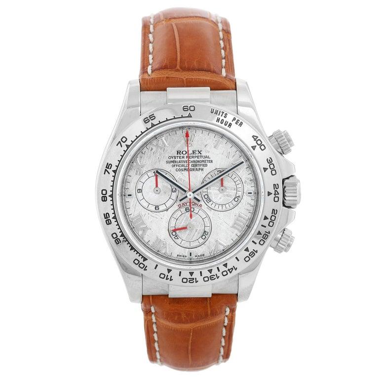 Rolex Cosmograph Daytona Men's White Gold 116519