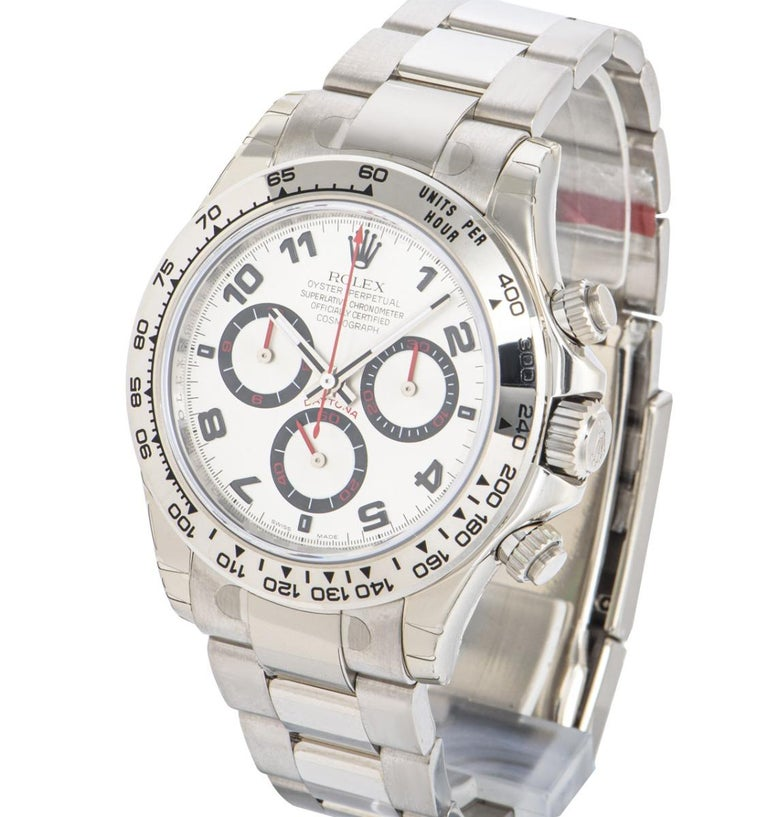 Rolex Cosmograph Daytona NOS Racing Dial 116509 Watch In New Condition For Sale In London, GB