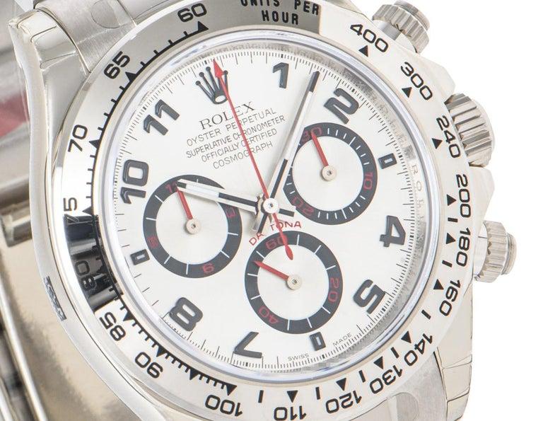 Men's Rolex Cosmograph Daytona NOS Racing Dial 116509 Watch For Sale
