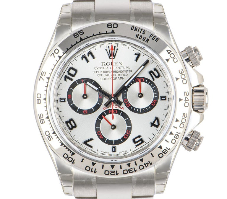 Rolex Cosmograph Daytona NOS Racing Dial 116509 Watch For Sale 4