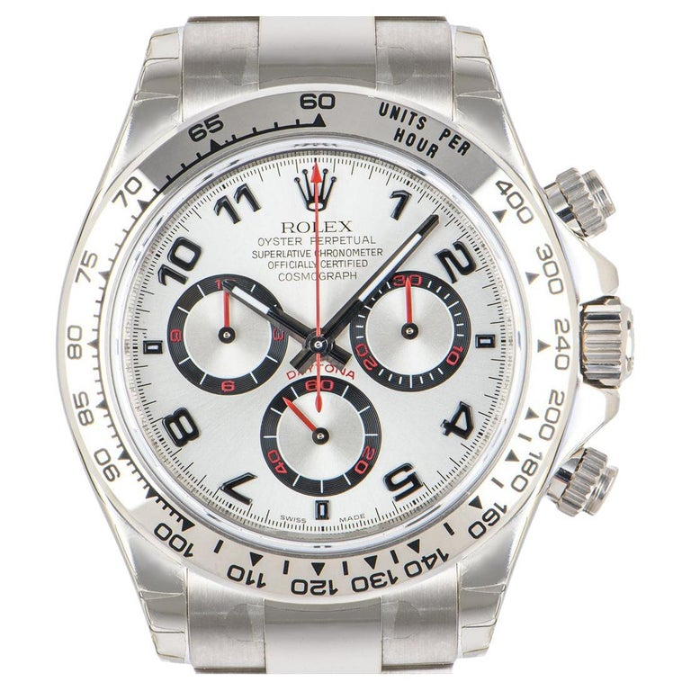 Rolex Cosmograph Daytona NOS Racing Dial 116509 Watch For Sale