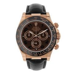 Rolex Cosmograph Daytona Rose Gold Chocolate Watch 116515LN