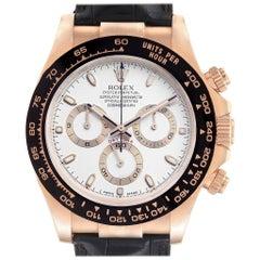 Rolex Cosmograph Daytona Rose Gold Everose Men's Watch 116515 Unworn