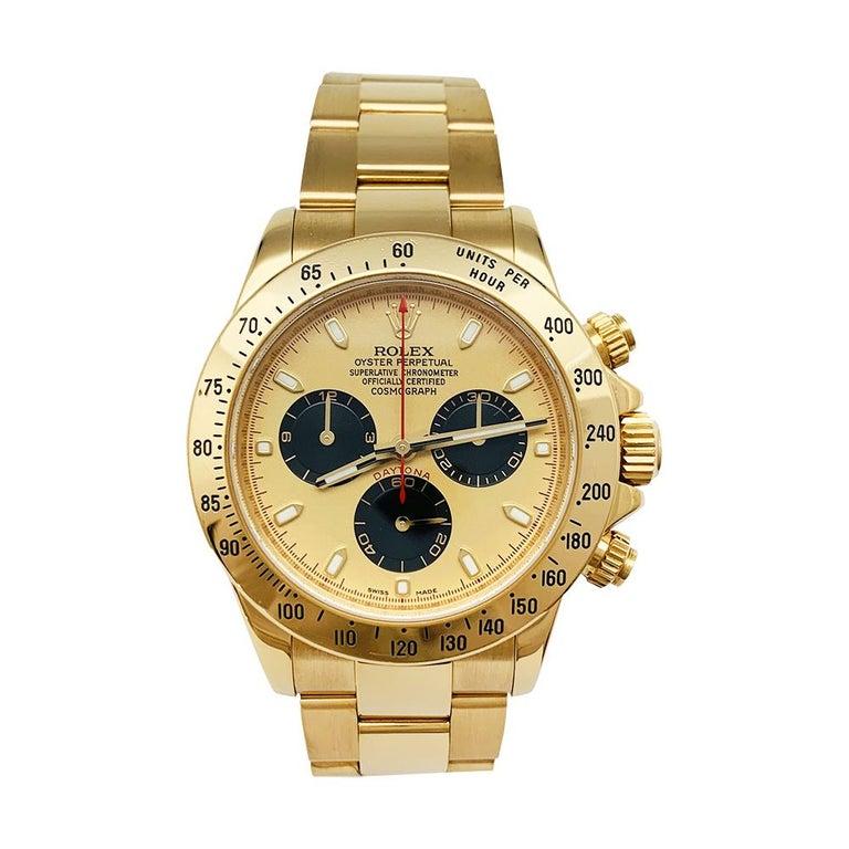 A 18K yellow gold Rolex watch,