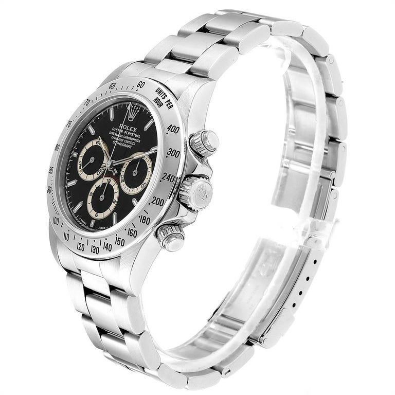 Rolex Cosmograph Daytona Zenith Movement Men's Watch 16520 Box Papers For Sale 1