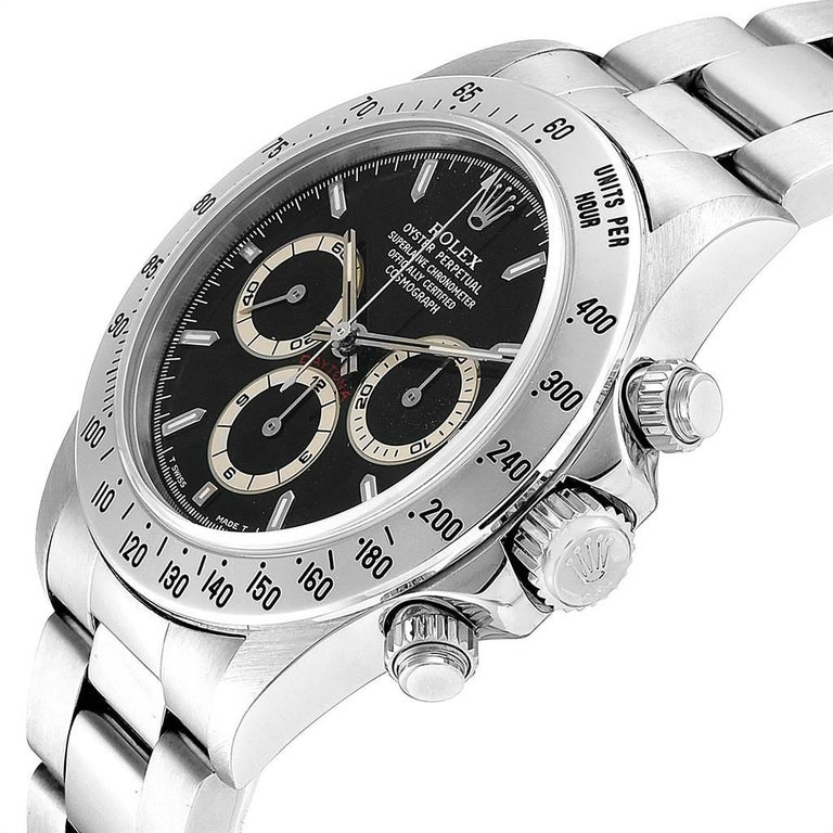 Rolex Cosmograph Daytona Zenith Movement Men's Watch 16520 Box Papers For Sale 2