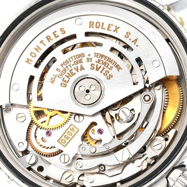 Rolex Cosmograph Daytona Zenith Movement Men's Watch 16520 Box Papers For Sale 5