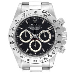 Rolex Cosmograph Daytona Zenith Movement Men's Watch 16520 Box Papers
