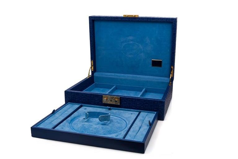 Rolex Crown Collection Ladies Datejust President 18 Karat Gold Diamond 69238 For Sale 4