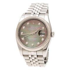 Rolex Dark Mother of Pearl  Datejust 116234 Men's Wristwatch 36 mm