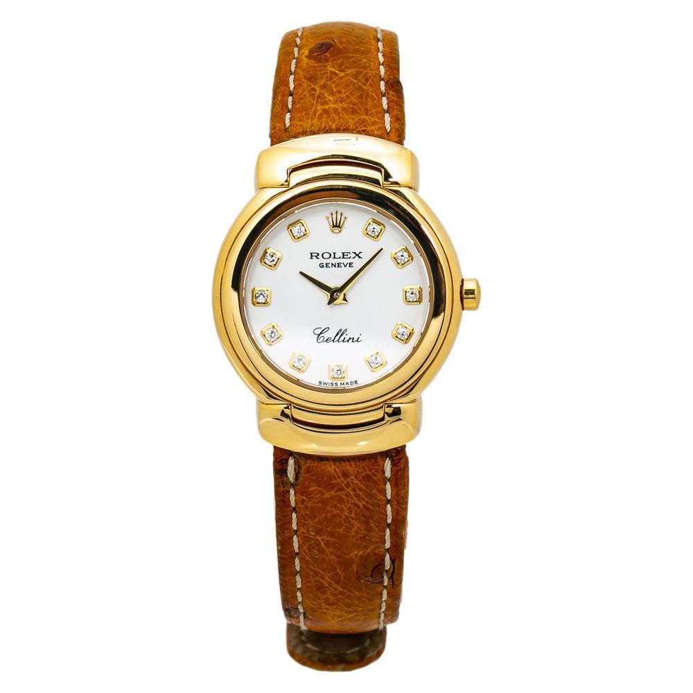 Rolex Date 1500 18K Two Tone Silver Dial Oyster Bracelet Automatic Men's Watch