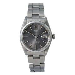 Rolex Date 1500, Certified and Warranty