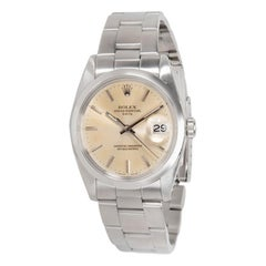 Rolex Date 1500, Ivory Dial, Certified and Warranty