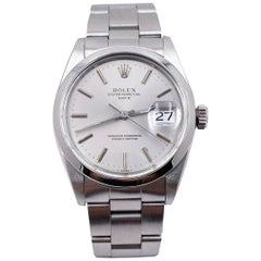 Rolex Date 1500 Silver Dial Stainless Steel