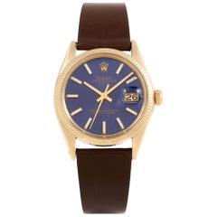 Rolex Date 1503, Beige Dial, Certified and Warranty