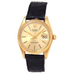 Rolex Date 1503, Champagne Dial, Certified and Warranty