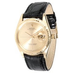 Rolex Date 1512 Men's Watch in 14kt Yellow Gold