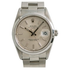 Rolex Date 15200, Case, Certified and Warranty