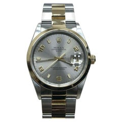 Rolex Date 15203, Certified and Warranty