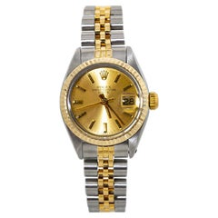 Rolex Date 6917 18K Two Tone Automatic Ladies Watch