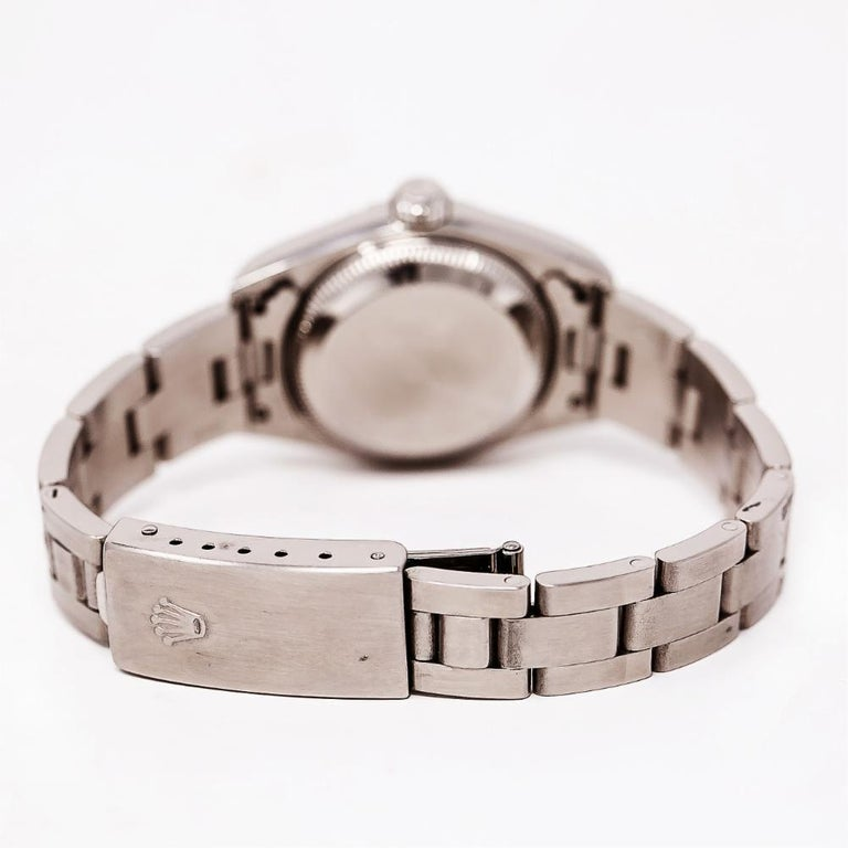 Women's Rolex Date 79160, White Dial, Certified and Warranty For Sale
