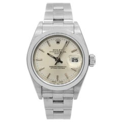 Rolex Date 79160, Silver Dial, Certified and Warranty