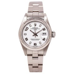 Rolex Date 79160, White Dial, Certified and Warranty