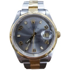 Rolex Date, Bi-Metal, Model Number 15203, Registered 2000