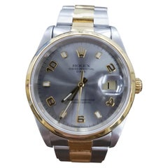 Rolex Date, Bi-Metal, Model Number 15203, Registered, 2000