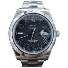 Rolex Date Just 2, Stainless Steel, Model Number 116300 Registered 2014