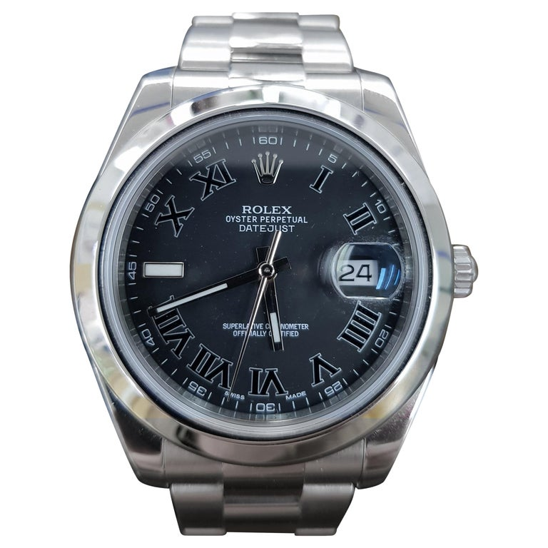 Rolex Date Just 2, Stainless Steel, Model Number 116300 Registered 2014 For Sale