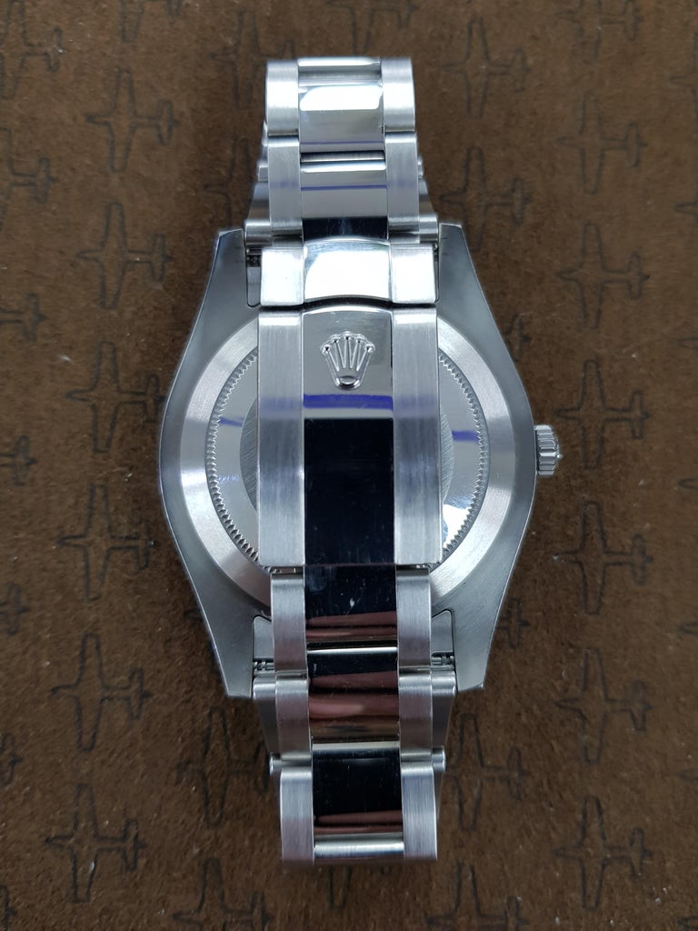 Rolex Date Just 2, Stainless Steel, Model Number 116334 Registered 2011 In Excellent Condition For Sale In London, GB