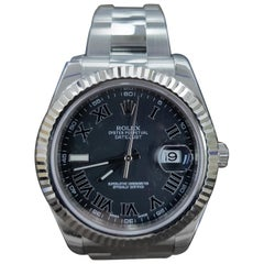 Rolex Date Just 2, Stainless Steel, Model Number 116334 Registered 2011