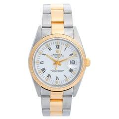 Rolex Date Men's 2-Tone Steel and Gold Watch 15223