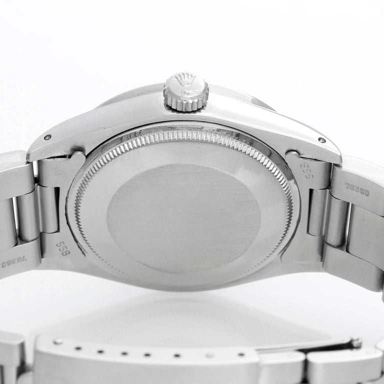 Rolex Date Men's Stainless Steel Watch 1501 For Sale 1