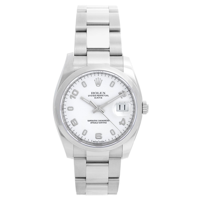 Rolex Date Oyster Perpetual Men's Watch 115200