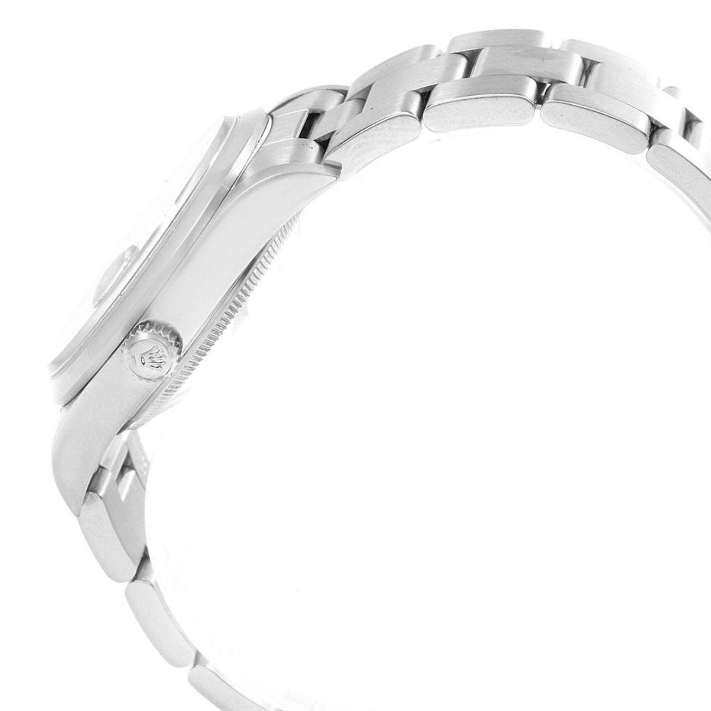 Rolex Date Smooth Bezel Oyster Bracelet Steel Men S Watch 15200