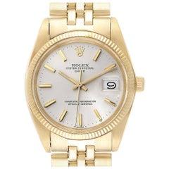 Rolex Date Yellow Gold Jubilee Bracelet Vintage Men's Watch 1503 Box