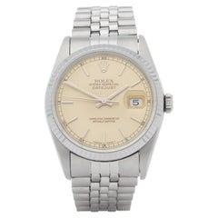Rolex Datejust 0 16200 Men Stainless Steel 0 Watch