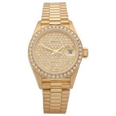 Rolex Datejust 0 69178 Ladies Yellow Gold 0 Watch